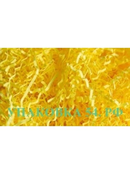 Наполнитель для коробок - Ярко-желтый  (Папирусная бумага, тишью) арт. 532