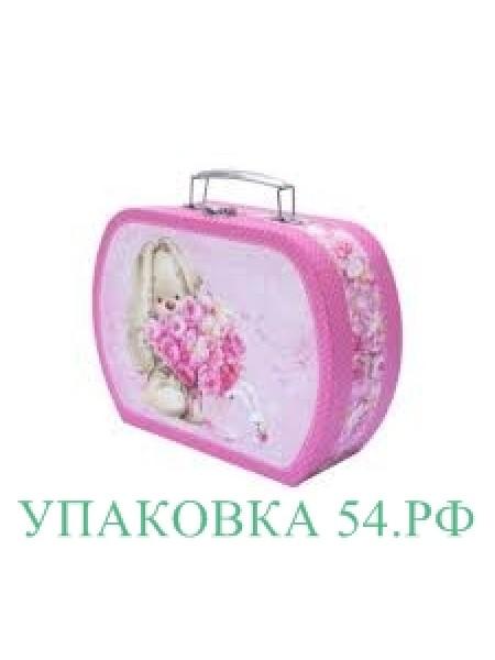 """Подарочная коробка """"Чемоданчик Зайка""""-2"""