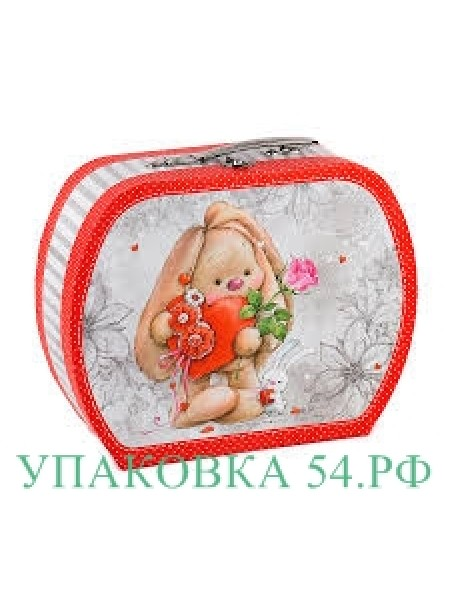 """Подарочная коробка """"Чемоданчик Зайка""""-3"""