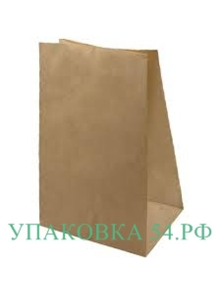 Пакет бумажный крафт 8*23*5 см