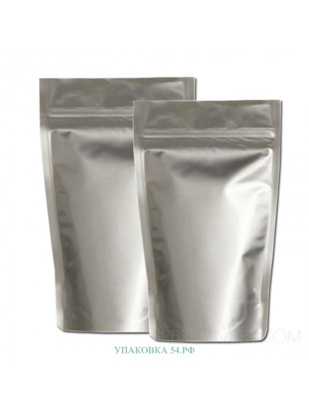 Дой-пак (серебро зиплок) 14*20 см