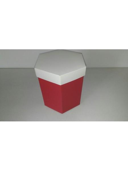 Шестигранник цветной с крышкой 4