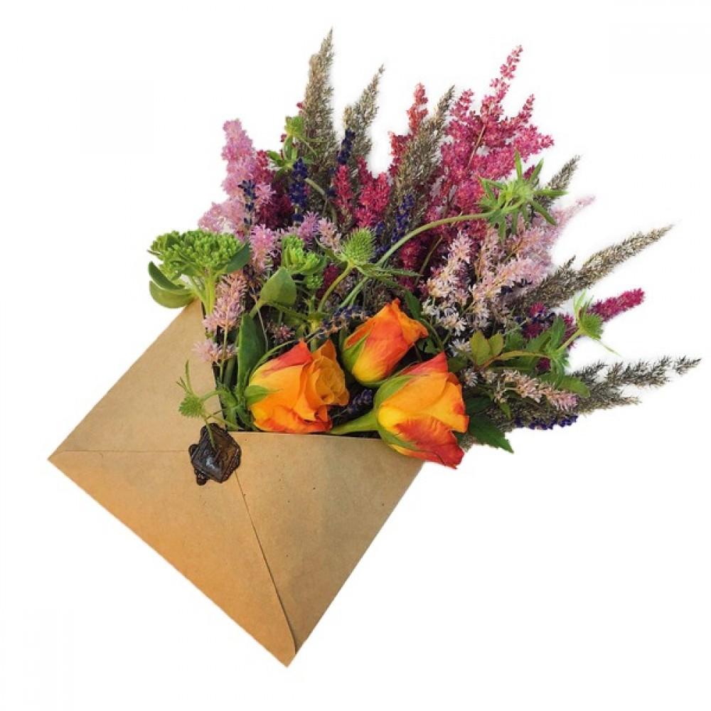 Конверты для цветов в Новосибирске