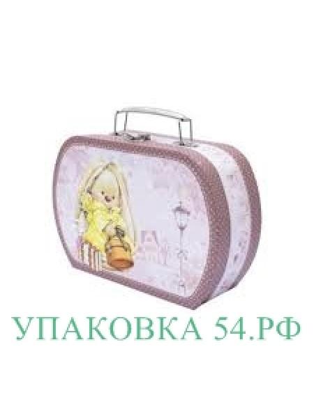 """Подарочная коробка """"Чемоданчик Зайка""""-1"""