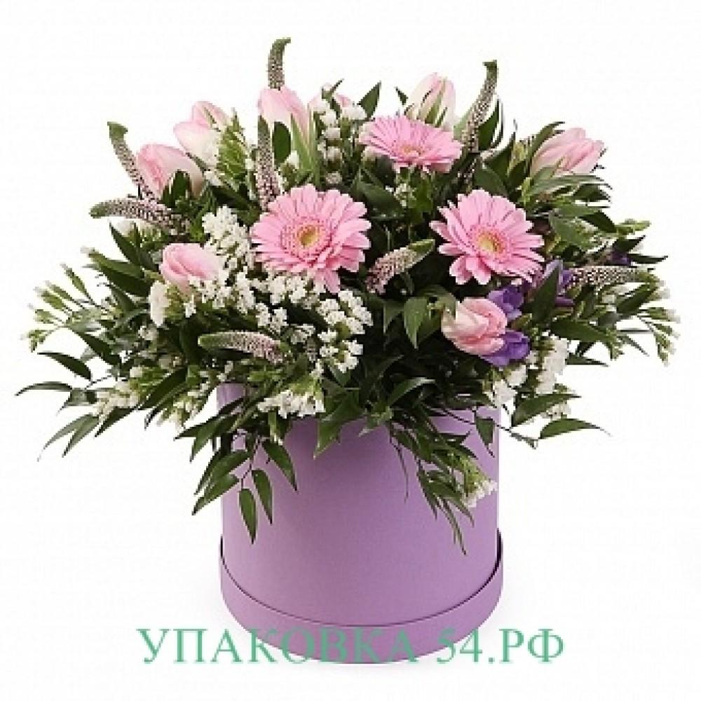 Коробки для цветов купить в Новосибирске