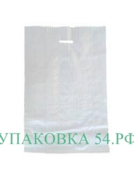 Мешок полипропиленовый с пробивной ручкой (принт)