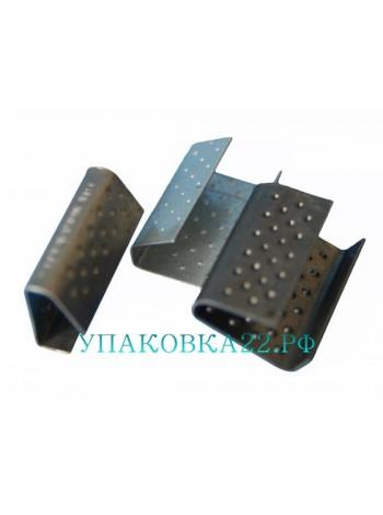 Скоба 13х0,5 черная для полимерной ленты