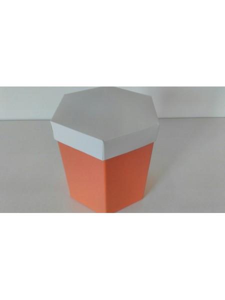 Шестигранник цветной с крышкой 1